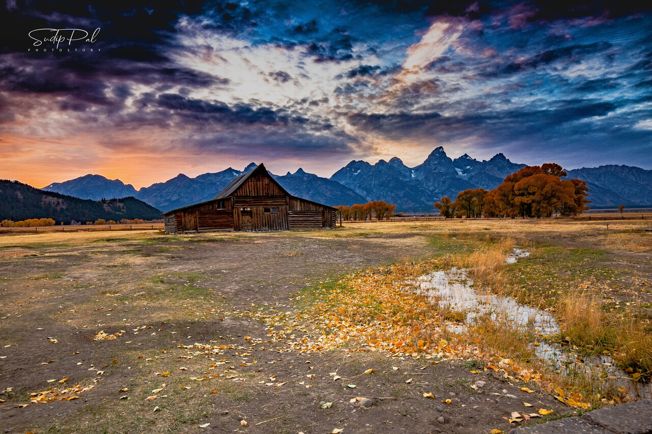 T.A. Moulton Barn, Mormon Row - Grand Teton National Park